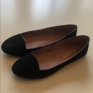 Aldo flats black suede size 6.5